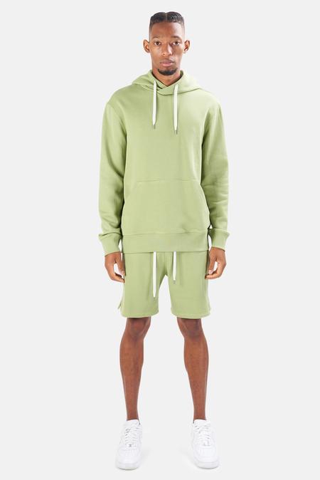 Blue&Cream The Hood Hoodie Sweater - Pistachio