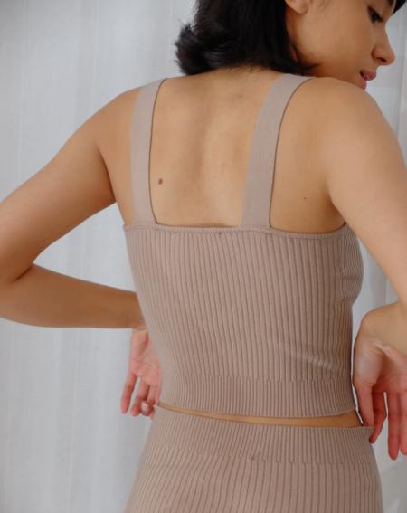The Bodysuit of Barcelona Rossette Bra - Taupe
