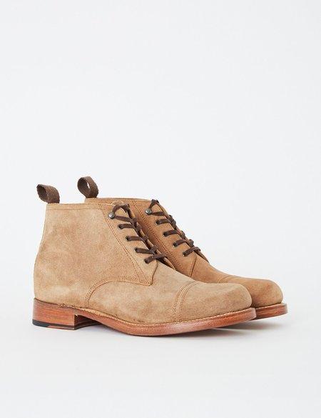 Grenson Ryan Suede Boot - Snuff Brown