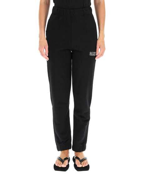 GANNI Sport Pants - Black