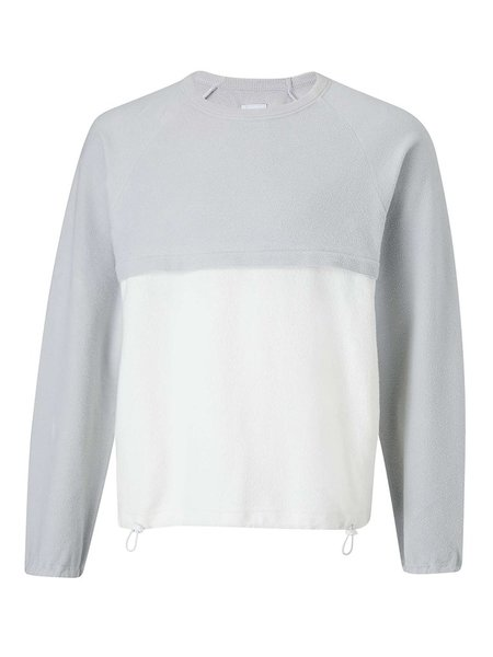 Les Basics Le Sweat Plus - Grey/White