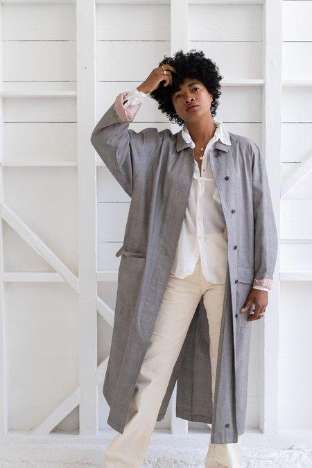 Vintage Kenzo Coat - Houndstooth