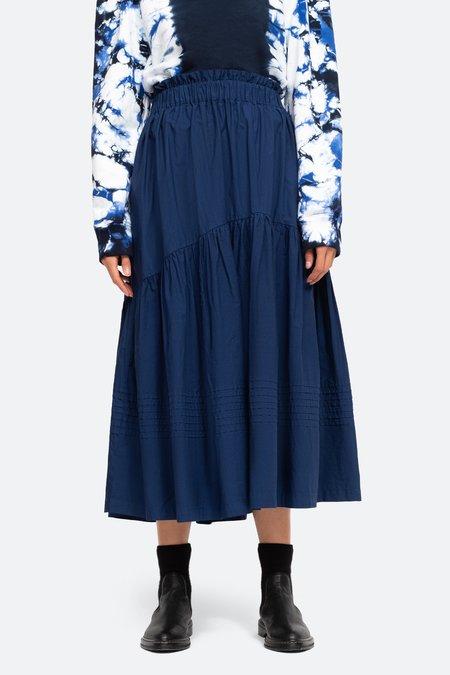 Sea NY Claudine Skirt - Blue/Chino