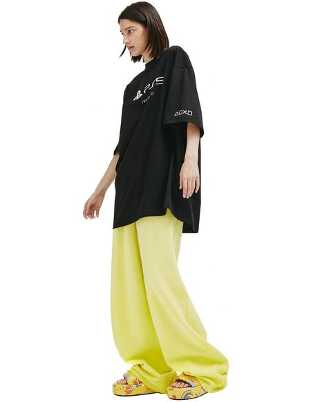 Balenciaga Playstation T-shirt - Black