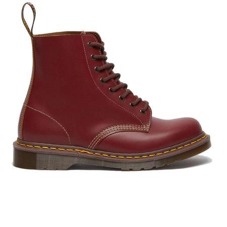 Dr. Martens 1460 Vintage Lace Up Boots - Red Quilon