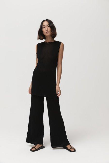 St. Agni Vas Knit Tunic - Black