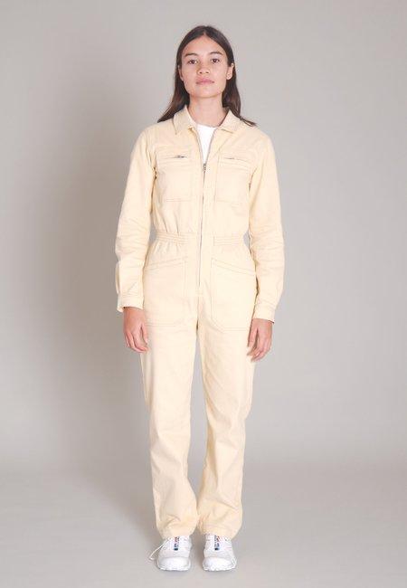 L.F.Markey Danny Long Sleeve Boilersuit - Ivory