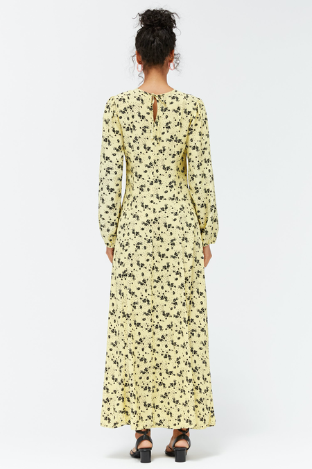 Lacausa SAMPLE Sparrow Dress - Buttermilk