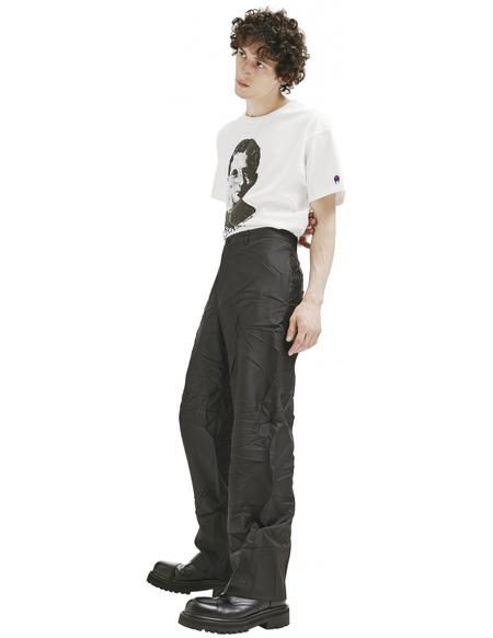 Balenciaga Wrinkled Pants - Black