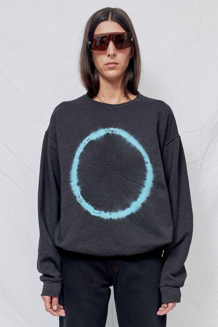 UNISEX Assembly Aqua Eclipse Sweatshirt - black