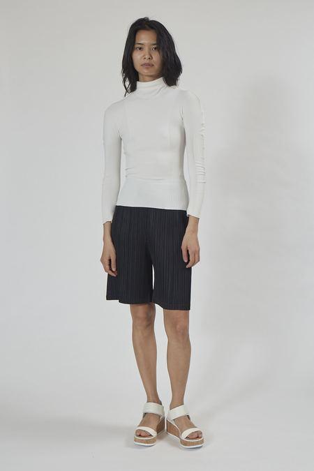 Issey Miyake A-POC Skin Turtleneck - White