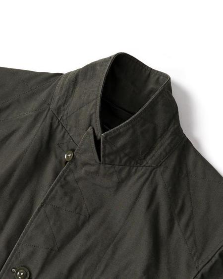 Engineered Garments Bedford Jacket - Olive Heavyweight Cotton Ripstop
