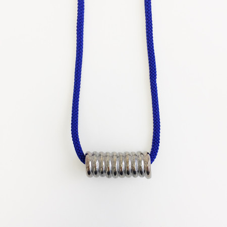 Aubrey Hornor Metallic Coil Necklace