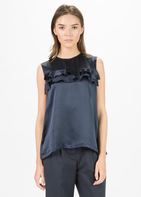 Lareida Romana Sleeveless Silk Top