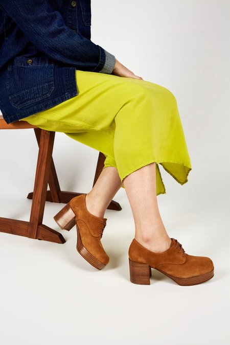 """""""INTENTIONALLY __________."""" ALBANY Platform - Tan Suede"""