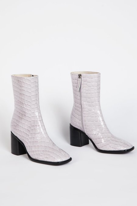 """""""INTENTIONALLY __________."""" CONTOUR Boot - Lilac"""