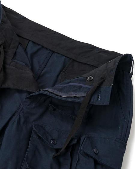 Engineered Garments Heavyweight Cotton Ripstop FA Pant - Dark Navy