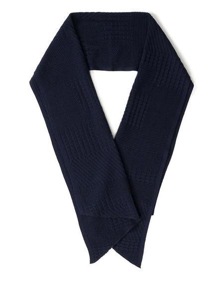 Engineered Garments Wool Knit Scarf - Navy