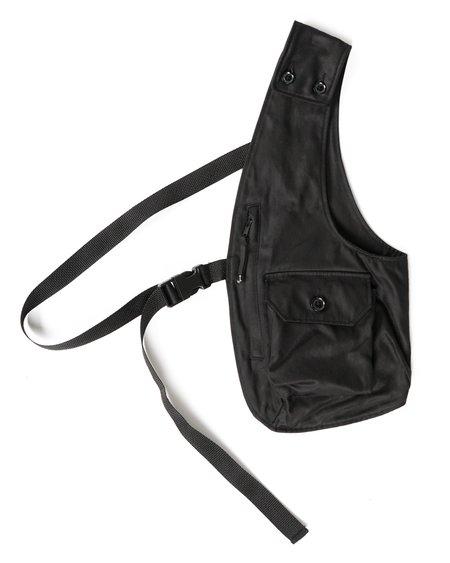 Engineered Garments Coated Twill Shoulder Vest - Black