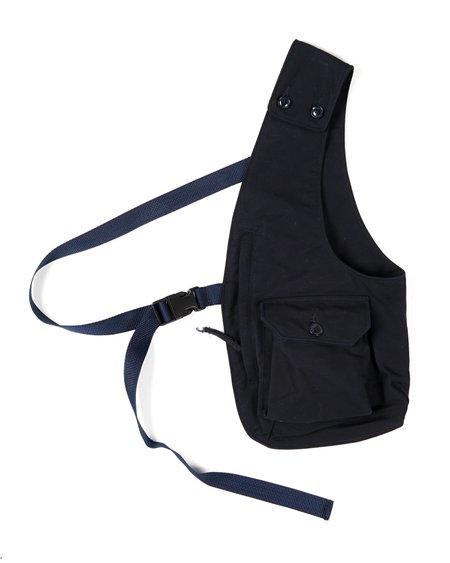 Engineered Garments Cotton Double ClothShoulder Vest - Navy