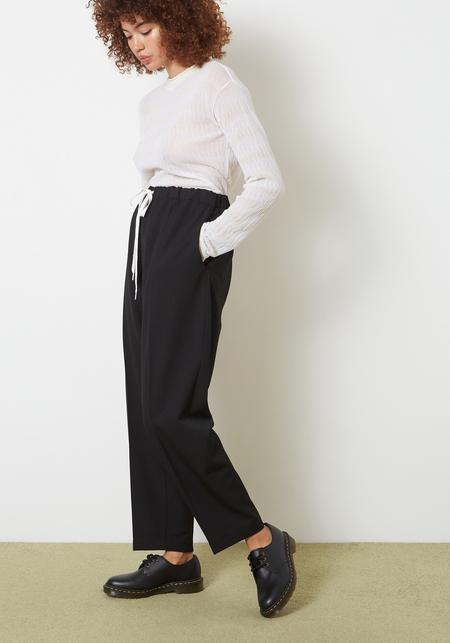 MM6 Maison Margiela Drawstring Pant - Black