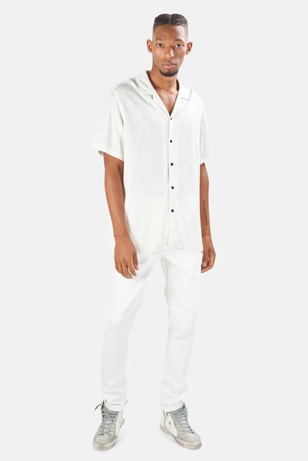 Ksubi Boa Resort Shirt - Assorted White