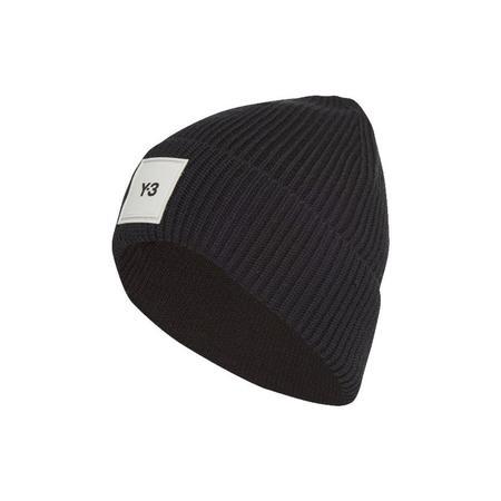adidas Y-3 Logo Beanie - Black