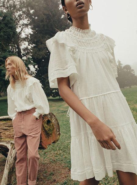 Magali Pascal Giselle Dress - Off White