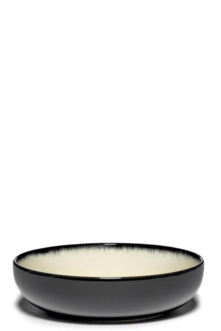 Ann Demeulemeester DÉ Var D High Plate - Off-White Black
