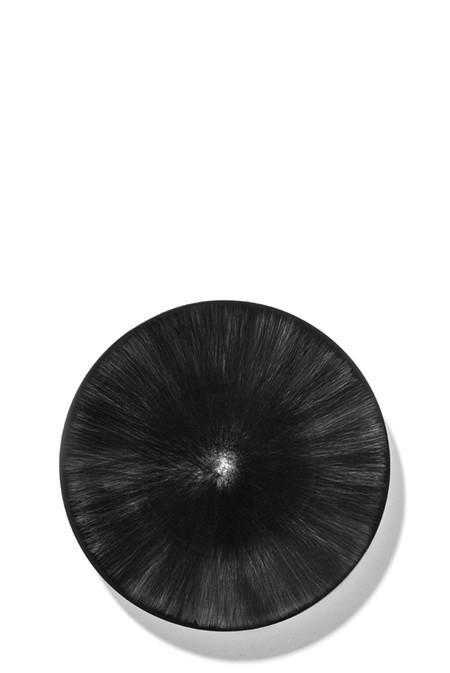 Ann Demeulemeester 14 cm Var 6 Plate - Off-White/Black