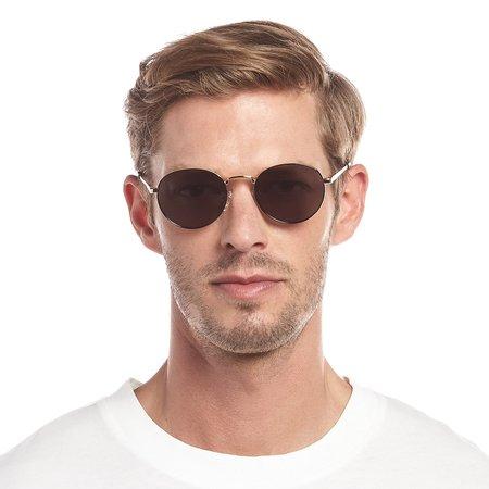 Unisex Le Specs lost legacy Sunglasses - green mono