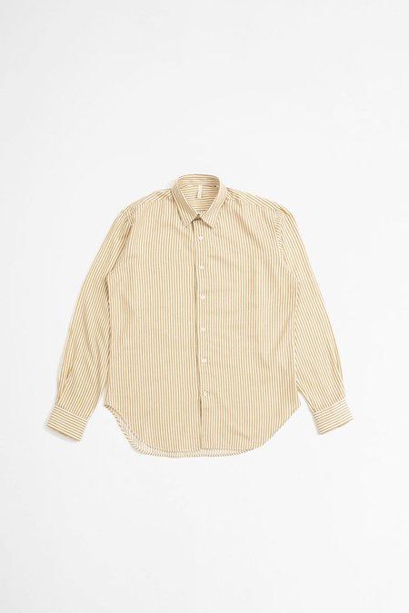 Sunflower Dan Shirt - Brown Stripes