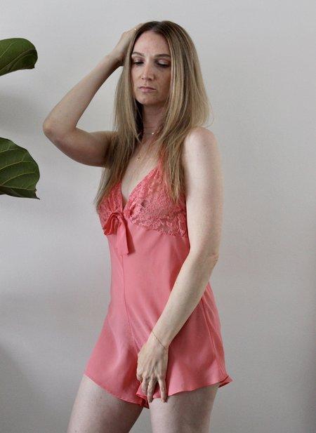 Vintage Bubblegum Romper - Pink