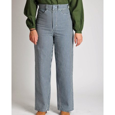 Gravel and Gold placer pants - conductor stripe