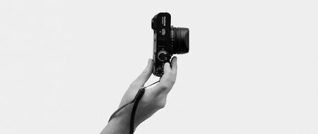 Cordovan Wrist Camera Strap - Navy Horween