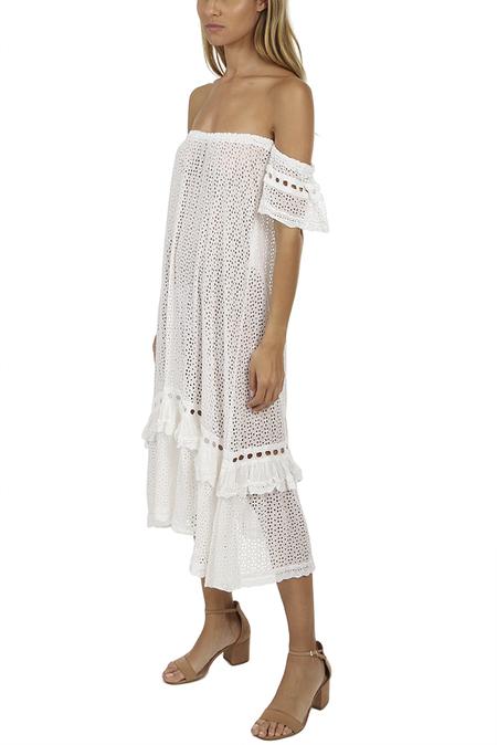 Sunday Saint-Tropez Women's Clea Dress - Blanc