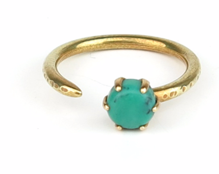 Claire Green Reservoir Ring