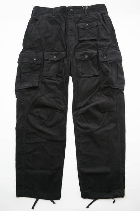 Engineered Garments FA Pant - Black 14W Corduroy
