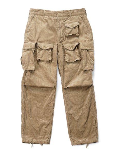 Engineered Garments 14W Corduroy FA Pant - Khaki