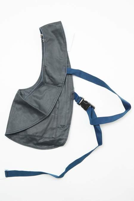 Engineered Garments Shoulder Vest - Dk. Navy Coated Twill