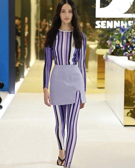 Karla Spetic Stripe Top - multi lavender