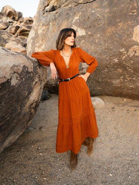 Xirena Addison Dress - Red Jasper
