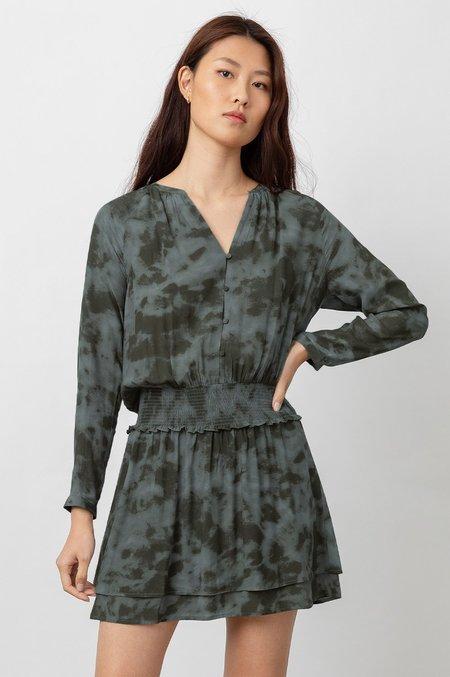 Rails Jasmine Dress - Slate Tie Dye