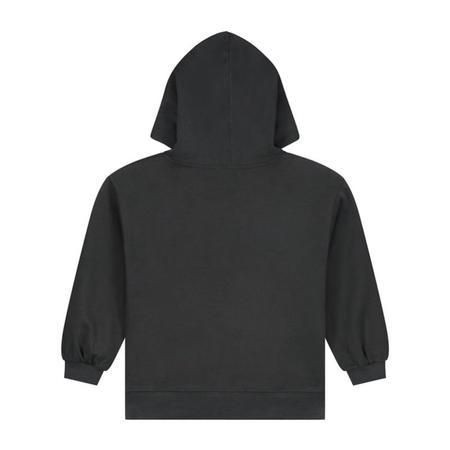Kids gray label hoodie - black
