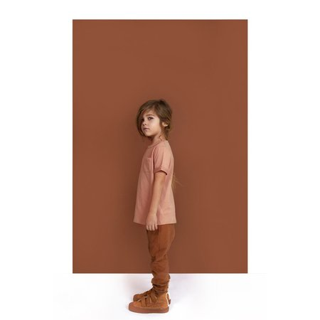 Kids gray label track pants - autumn