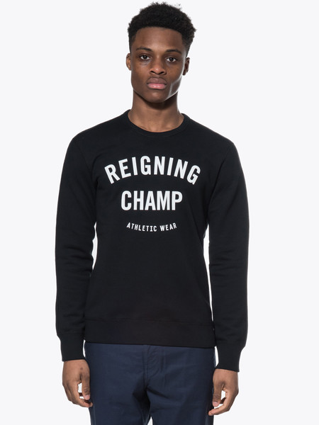 Reigning Champ Gym Logo Crewneck