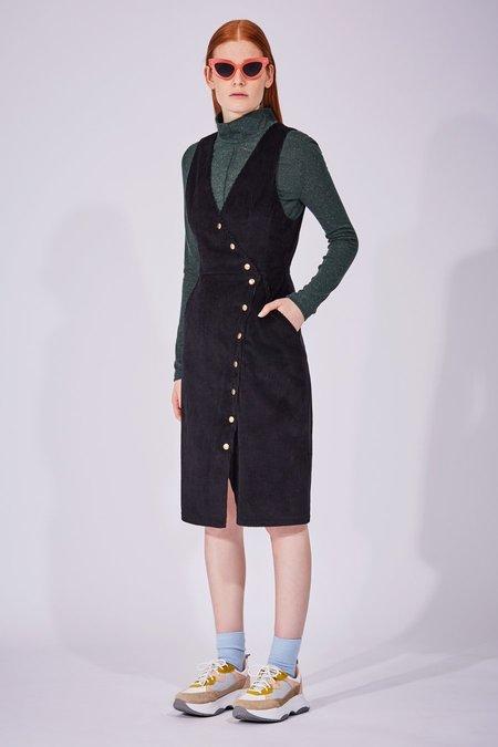 Eve Gravel Robe DELIRIUM dress