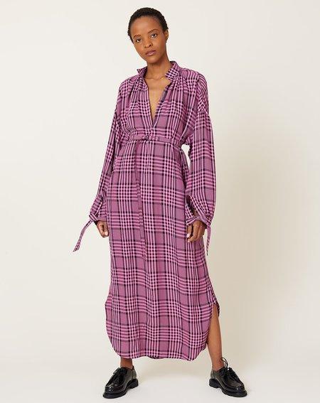 Christian Wijnants Dulcie Dress - Pink Checks
