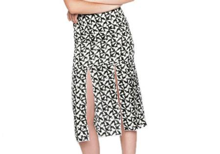 Diarte Isa Printed Skirt.