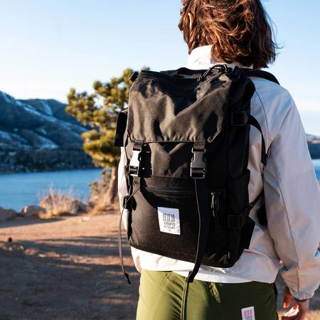 Unisex Topo Designs Rover Pack Classic - Charcoal